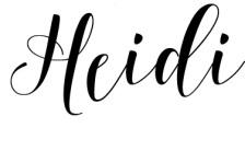 Heidi Mae Searle Anything Girly